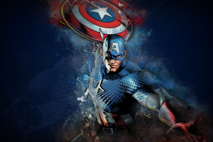 Captain America Artwork 4k