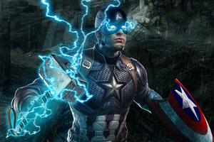 Captain America Avengers Endgame 4k Wallpaper