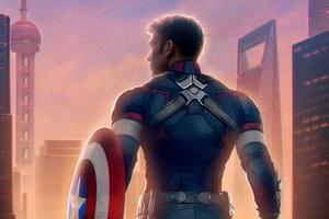 Captain America Avengers Endgame Chinese Poster