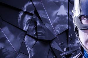 Captain America Avengers Endgame Poster