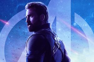 Captain America Avengers Infinity War Movie Wallpaper
