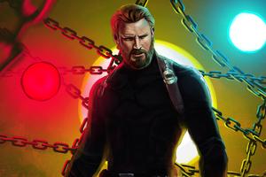Captain America Beard