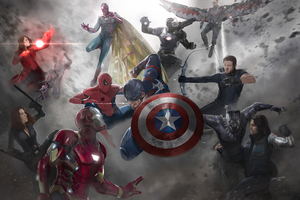 Captain America Civil War 4k 2020 Wallpaper