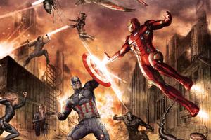 Captain America Civil War Comic