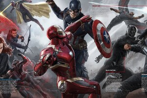 Captain America Civil War Heroes