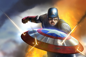 Captain America Coming