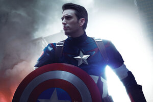 Captain America Cosplay 5k Wallpaper