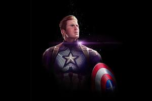 Captain America Dark 4k