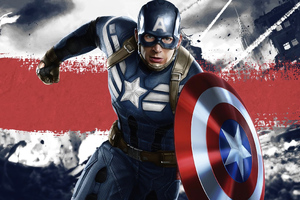 Captain America Disney Wallpaper