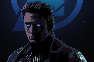 Captain America Endgame Art