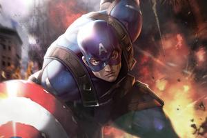 Captain America Fan Artwork