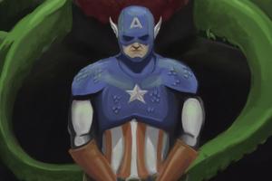 Captain America Hail Hydra