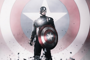 Captain America Hero 4k Wallpaper