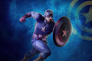Captain America Hong Kong Disneyland Wallpaper