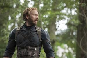 Captain America In Avengers Infinity War