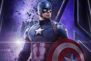 Captain America Infinity War 4k Wallpaper