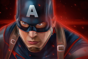 Captain America Latest Art