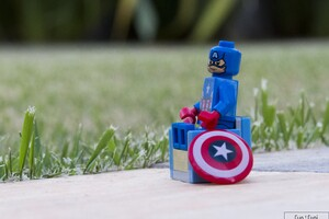 Captain America Lego Wallpaper