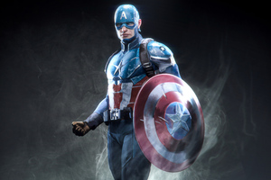 Captain America Marvel Superhero Wallpaper
