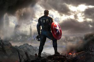 Captain America Marvels Avengers 4k