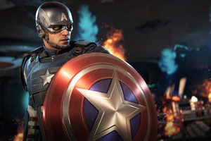 Captain America Marvels Avengers 5k Wallpaper