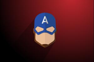 Captain America Minimalist