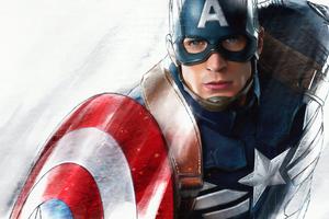 Captain America New Sketch Art