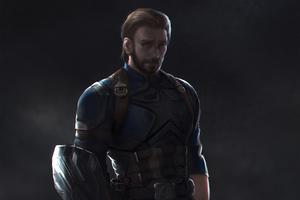 Captain America Newart Wallpaper