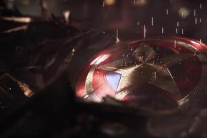 Captain America Shield 4k
