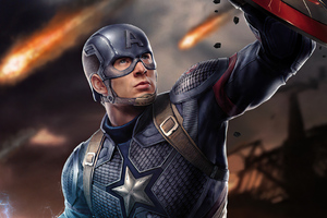 Captain America Shield And Thor Hammer