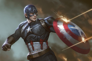 Captain America Shield Artwork HD
