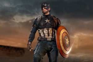 Captain America Shield Saver Wallpaper