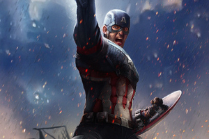 Captain America Stormbreaker Wallpaper