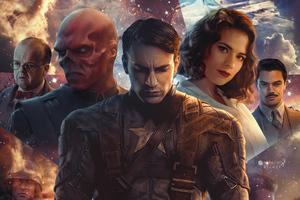 Captain America The First Avenger Poster 5k