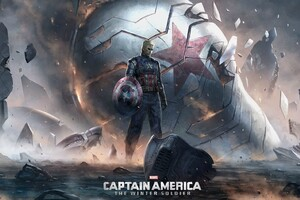 Captain America The Winter Soldier Art
