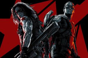 Captain America The Winter Soldier Bucky Poster 5k Wallpaper