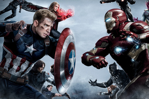 Captain America Vs Iron Man Team
