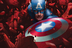 Captain America Vs Red Skull Wallpaper