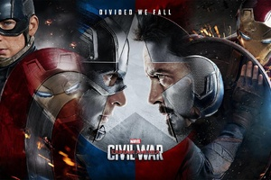 Captain America Vs Tony Stark Wallpaper
