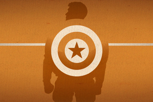 Captain America Wall Background Wallpaper