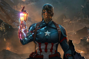 Captain America What If Infinity Gauntlet