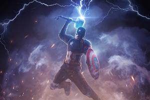 Captain America Worthy Thanos Wallpaper
