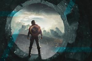 Captain America4kart Wallpaper