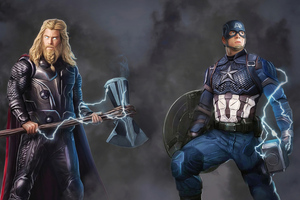 Captain And Thor