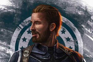 Captain Beard America Wallpaper
