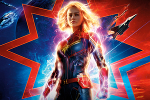 Captain Marvel 2019 10k Wallpaper