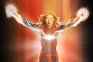 Captain Marvel 2019 New