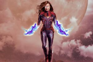 Captain Marvel 2020 4k