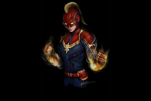 Captain Marvel 4k2020