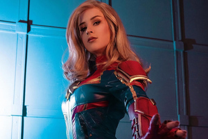 Captain Marvel 4kcosplay